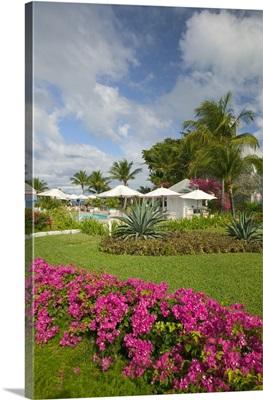 Caribbean, Turks and Caicos, Providenciales Island, Ocean Club Hotel