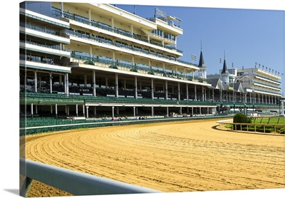 Churchill Downs, the home of the Kentucky Derby, KY