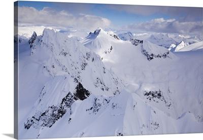Coast Mountains, Near Squamish And Whistler, British Columbia, Canada