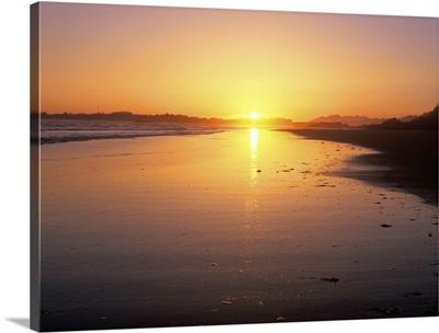 Combers Beach Sunset, Pacific Rim National Park, British Columbia