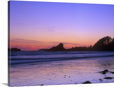 Cox Beach at Twilight, Tofino, BC, Canada