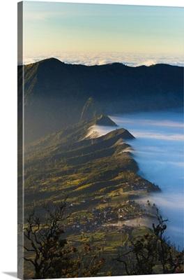 Edge of Tengger Caldera, Bromo Tengger Semeru National Park, Indonesia