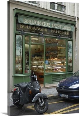 France, Paris, bakery in Ile St. Louis