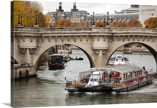 bateau mouche pont neuf