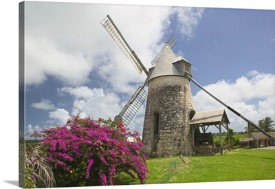 French West Indies, Guadaloupe, Marie, Galante Island, Moulin Bezard