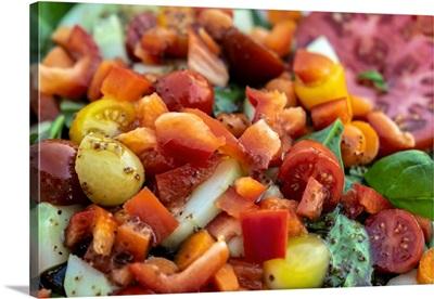 Fresh Garden Salad, USA