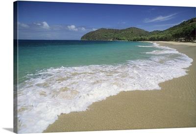 Grenadines, beach at Mayreau Island