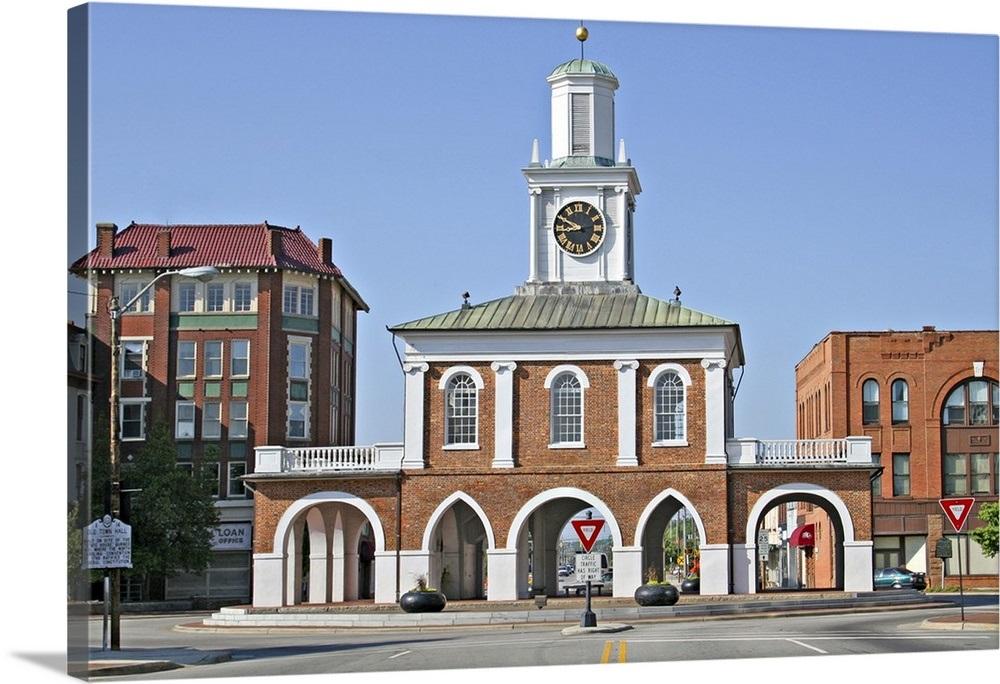 Historic Old Market House, Fayetteville, North Carolina