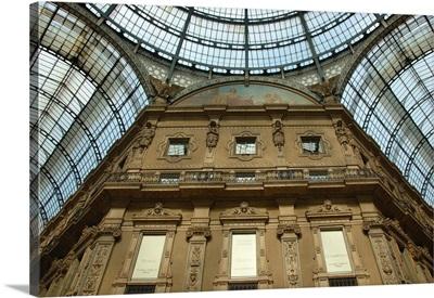 Italy, Milan, Galleria Vittorio Emanuele II interior