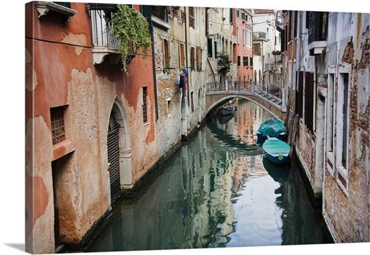italy venice canal wall art canvas prints framed prints wall