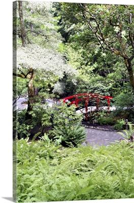 Japanese Garden at Butchart Gardens, Victoria, British Columbia, Canada