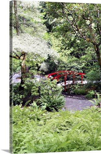 Japanese Garden at Butchart Gardens, Victoria, British Columbia ...