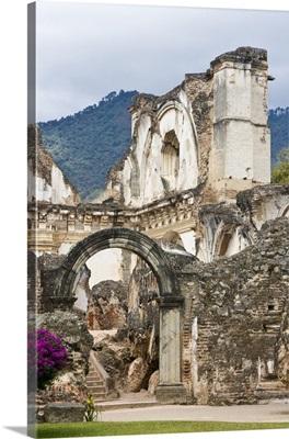 La Recoleccion Church of Antigua, Guatemala