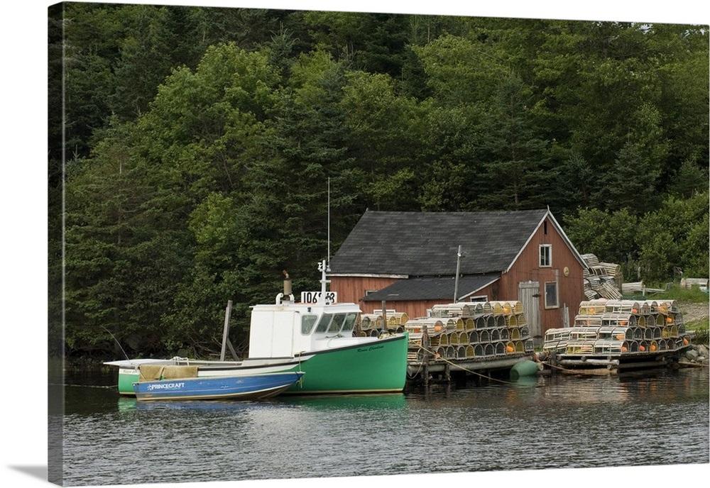 Lobster Boat, Eastern Shore, Nova Scotia, Canada