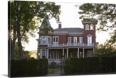 Maine, Bangor. The house of writer, Stephen King