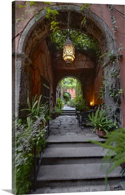 Mexico, Guanajuato, San Miguel de Allende, Casa Luna Pila Seca