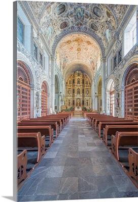 Mexico, Oaxaca, Church of Santo Domingo de Guzman