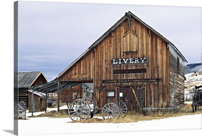 Montana, Nevada City, a ghost town