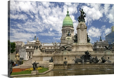 Monument to the Two Congresses in Buenos Aires, Argentina
