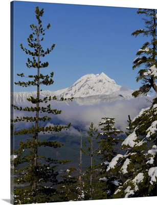 Mount Garibaldi From The Chief Overlook At The Summit Of The Sea To Sky Gondola