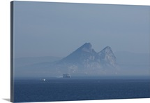 North Africa, Spanish Morocco, Ceuta. View Of The Rock Of Gibraltar
