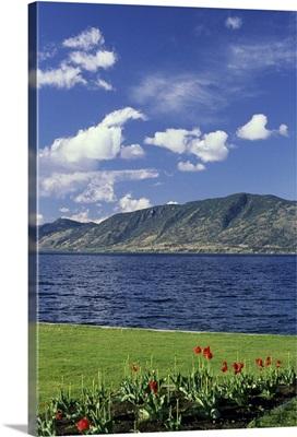 Okanagan Lake near Kelowna, British Columbia