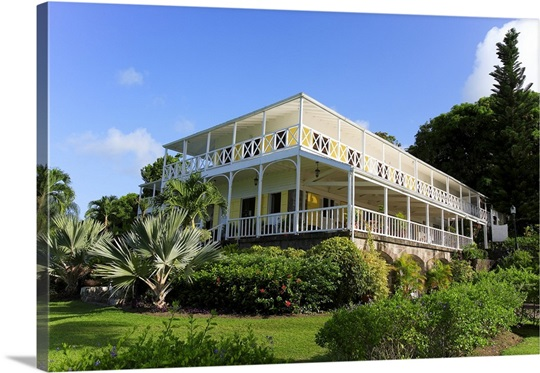 Ottleys Plantation Inn Historic Sugar Mill St Kitts Caribbean
