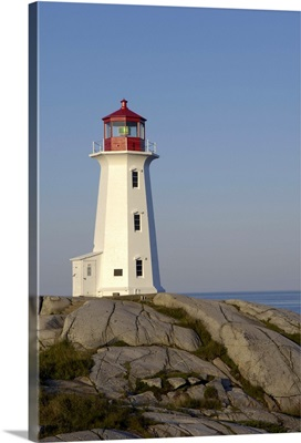 Peggy's Point Lighthouse, Peggy's Cove, Nova Scotia, Canada