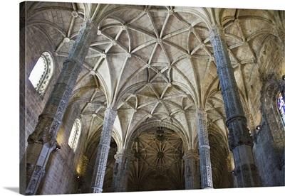 Portugal, Lisbon. The Mosteiro dos Jeronimos