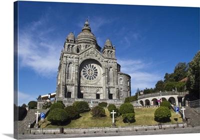 Portugal, Viana do Castelo. The Basilica de Santa Luzia