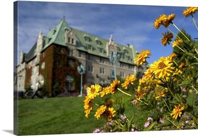 Quebec, Charlevoix region, Pointe-au-Pic, hotel Fairmont Le Manoir Richelieu