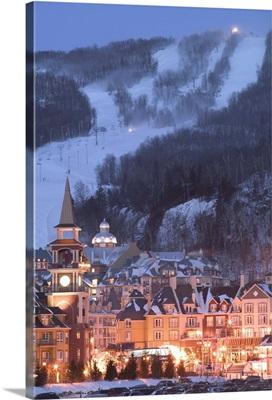 Quebec, The Laurentians, Mont Tremblant Ski Village