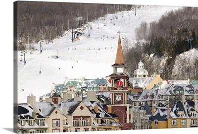 Quebec, The Laurentians, Mont Tremblant Ski Village, Daytime