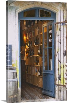 Restaurant L'Horloge, Montpeyroux. Languedoc. France