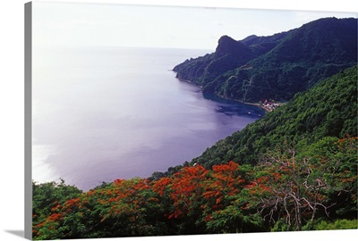 Soufriere, Soufriere Bay, Southern Coast, Dominica, Caribbean