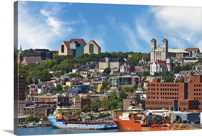 St. John's, Newfoundland, Jelly Bean houses and The Rooms Provincial Art Gallery