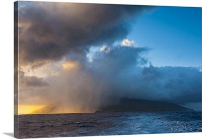 Sunrise over Ofu Island, Manu'a Island Group, American Samoa, South Pacific