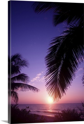 Sunset West End, Cayman Brac, Cayman Islands, Caribbean