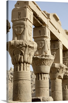 Temple of Isis. Island of Philae, Egypt