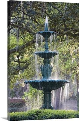 The fountain, Lafayette Square, Georgia
