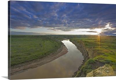 The Little Missouri River, Theodore Roosevelt National Park, North Dakota