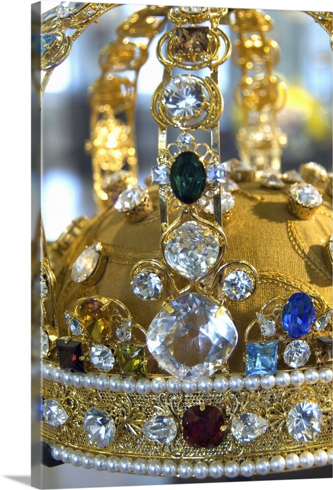 The Netherlands, Amsterdam  Diamond Museum  Replica of famous crown