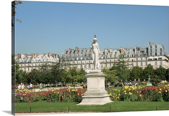 the tuileries garden paris france - Tuileries Garden