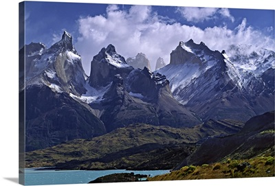 Torres Del Paine National Park, Cuernos Del Paine, Patagonian Andes, Chile
