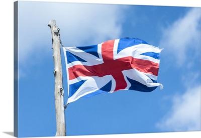Virginia, Jamestown, British flag