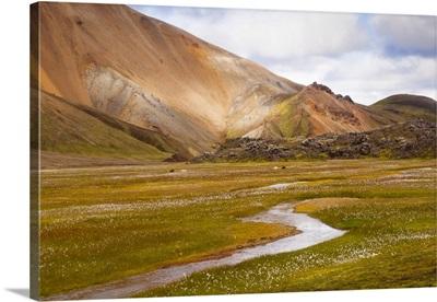 Volcanic Landscape At Landmannalaugar National Park, Iceland