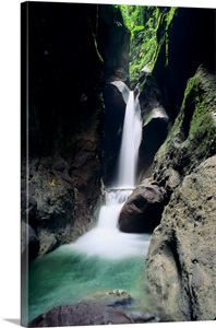 Waterfall Island Of Martinique Caribbean Wall Art