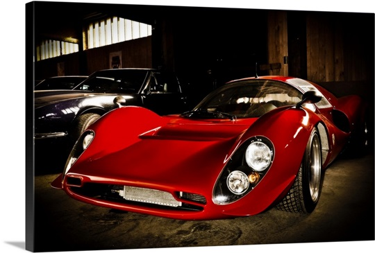Ferrari Wall Art, Canvas Prints, Framed Prints, Wall Peels | Great ...