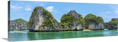 Beautiful Panorama Of Halong Bay