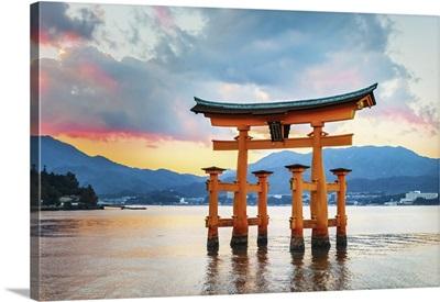 Great Floating Gate, O-Torii, In Miyajima, Hiroshima